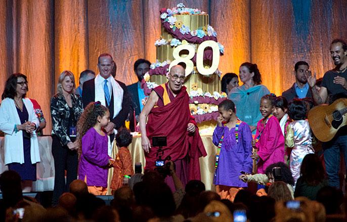 Dalai Lama birthday celebration
