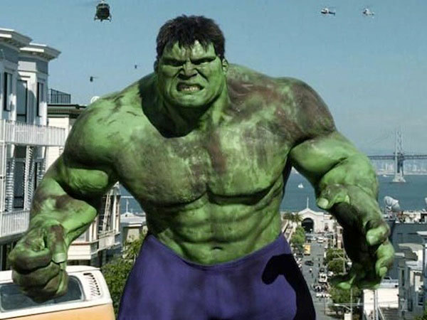 Hulk hulking out