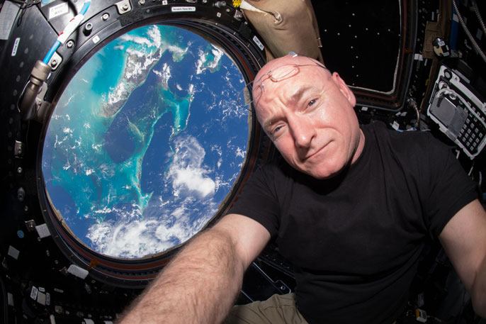 UC San Diego Kelly astronaut