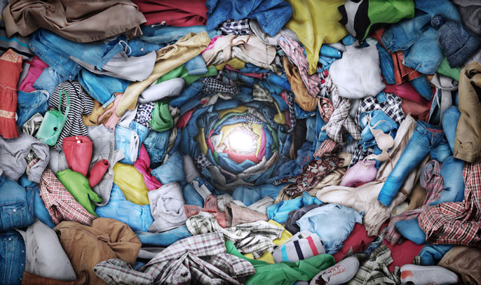 Dirty laundry vortex