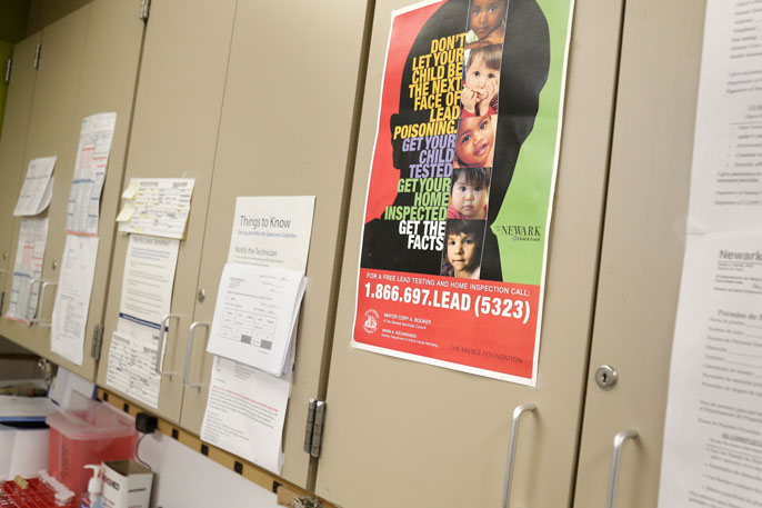 Lead school poster