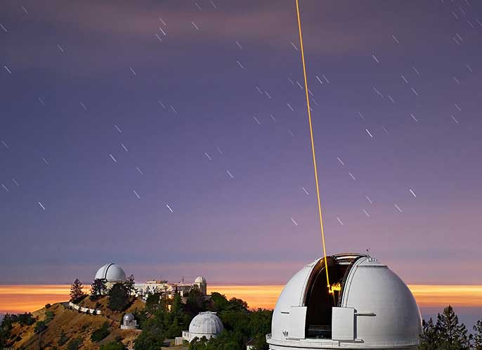 Lick Observatory (Laurie Hatch photo)