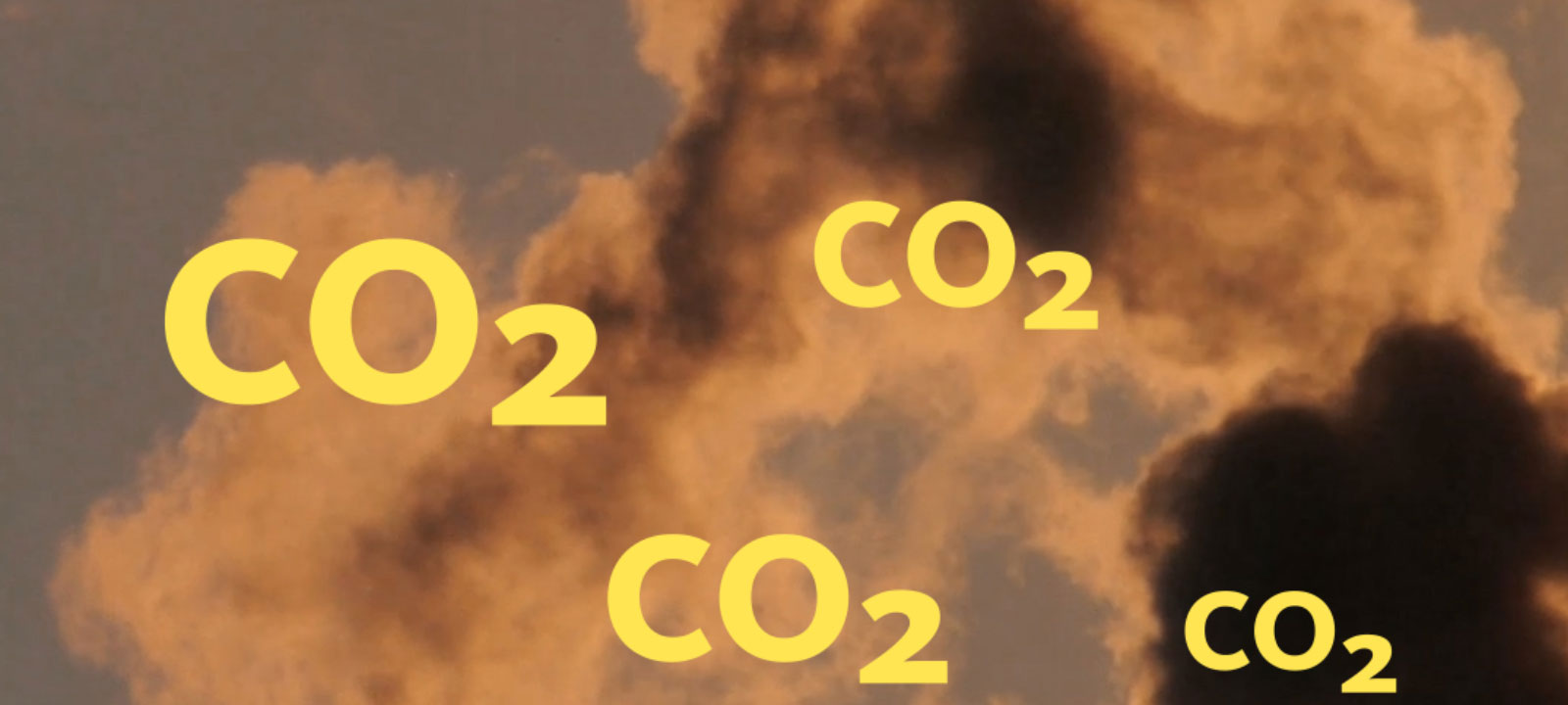 CO2 floating in a cloud of smoke