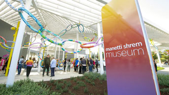 Manetti Shrem on opening day