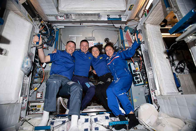 UC San Diego alum fulfills lifelong dream of going to space