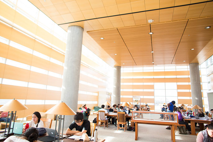 UC Merced library
