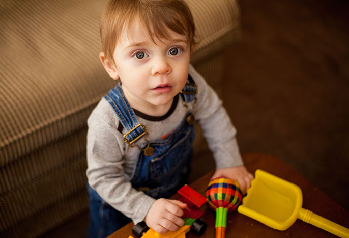 Used Toys For Toddlers : Toddlers can spy deception in others university of california