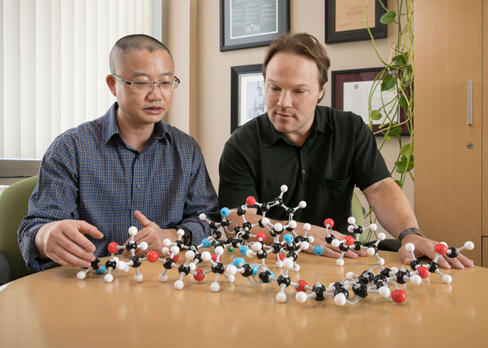 UCLA molecules Harris