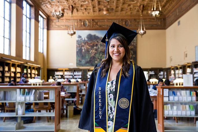 Student Mom Natalie Ruiz Achieves Her Berkeley Dream And