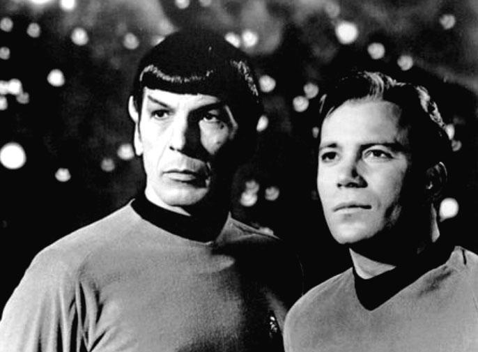 UC Santa Cruz Nimoy Shatner Star Trek