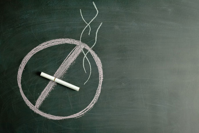 UC fellowships no smoking