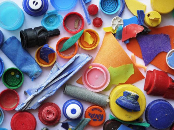 Collection of plastics