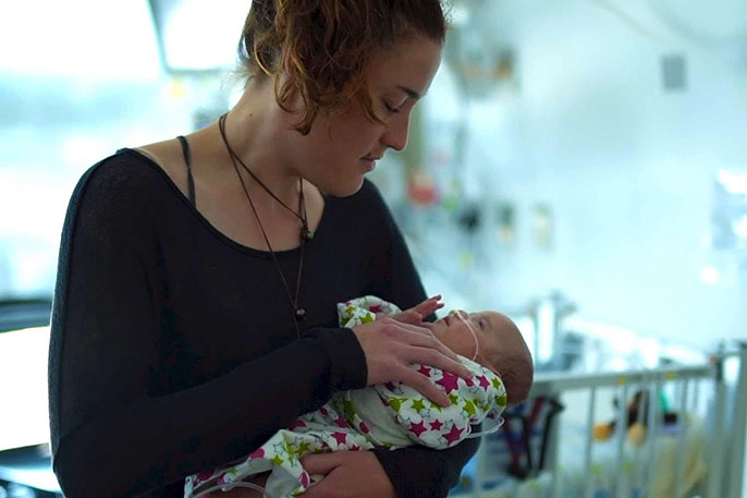 Premature Baby Grows Up To Be A Cuddler University Of