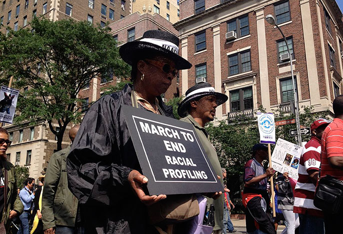 march against racial profiling