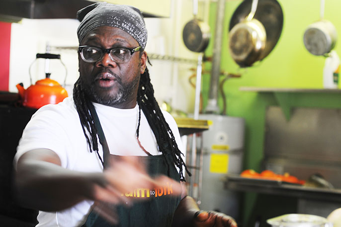 Matthew Raiford, a 2011 graduate of the Apprenticeship in Ecological Horticulture, will be honored at this year's Farm to Fork benefit dinner, a tradition he founded five years ago.