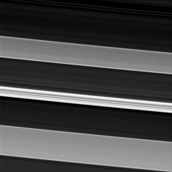 Saturn's C ring in close-up