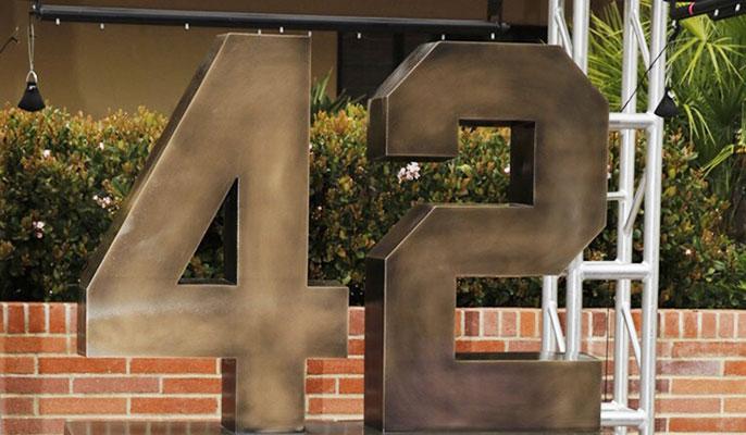 UCLA Jackie Robinson monument
