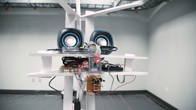UC Santa Barbara robot hero