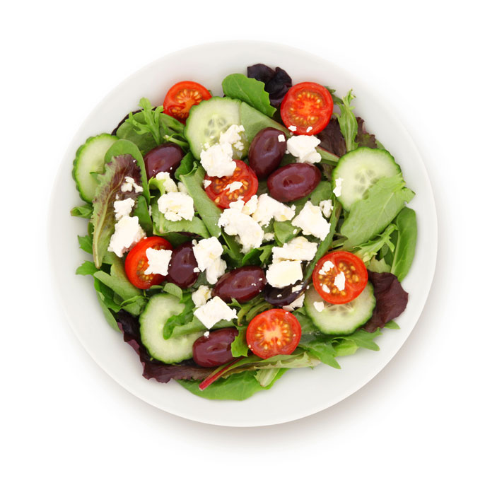 UC Irvine salad greek