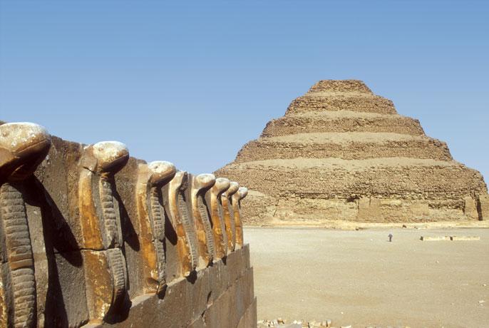 Saqqara, an ancient burial ground