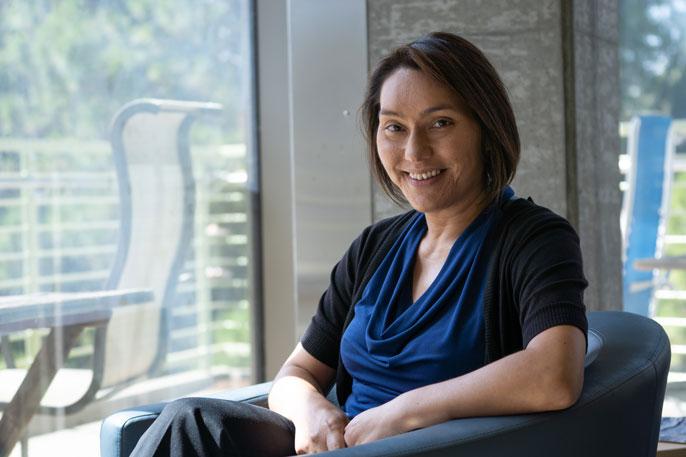UC Davis Sarah Stewart headshot