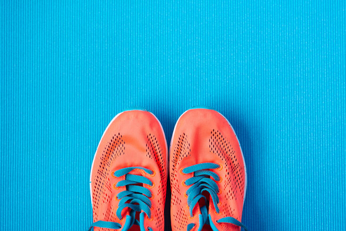 UCSF sneakers New Year's resolutions