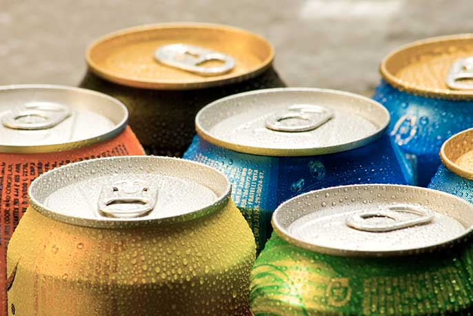 soda cans (iStock)