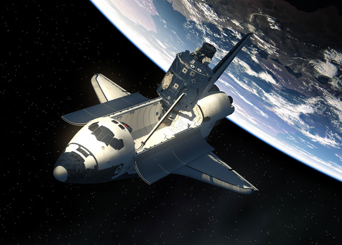 space shuttle 3-D printing