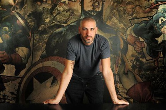 Alex Alonso, editor-in-chief at Marvel Comics