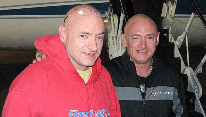 Steve and Mark Kelly
