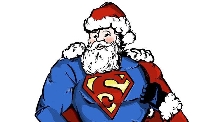 UC Irvine super Santa