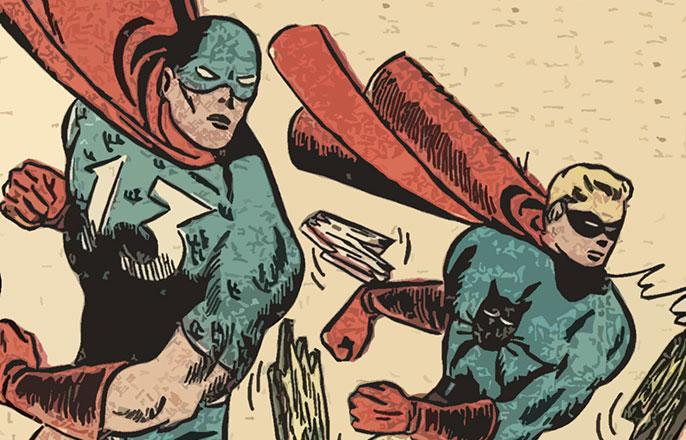 Public Domain Super Heroes - 13