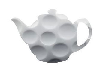 golf ball-textured teapot