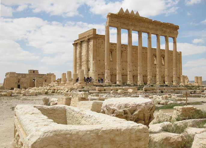 Temple of Bel photo