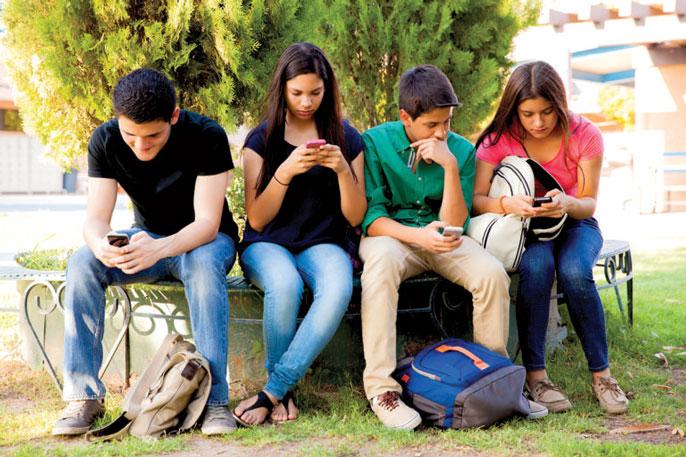 UC Irvine texting teens