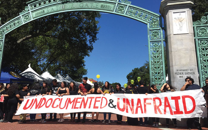 UC Berkeley undoc and unafraid rally