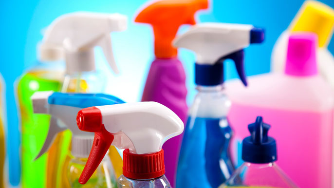 UC Davis cleaner disinfectant