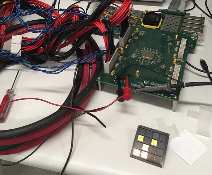 UC Davis kilocore chip