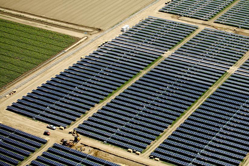 UC Davis solar panels