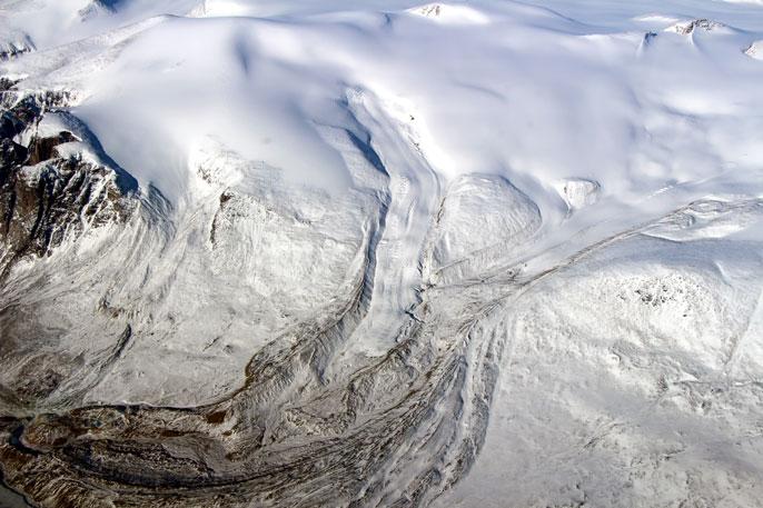 UC Irvine glaciers