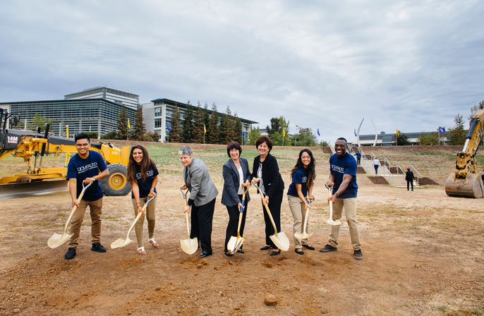 UC Merced break ground