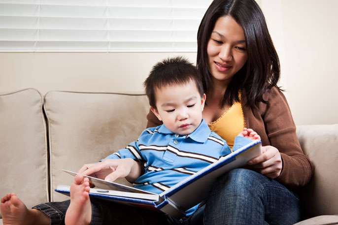 UC Merced in-home parenting study