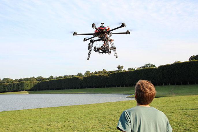 UC Riverside drone