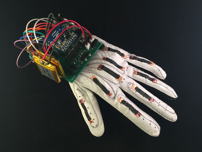 UC San Diego smart glove
