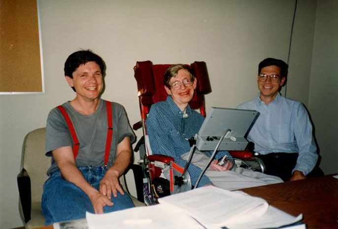 UC Santa Barbara Stephen Hawking