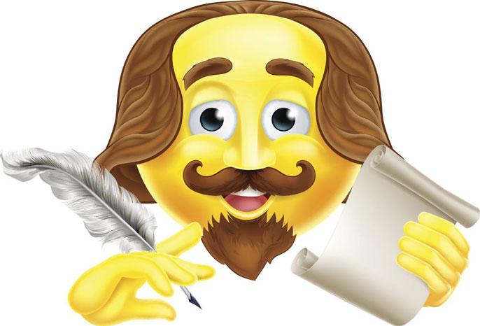 Shakespeare in emoji form