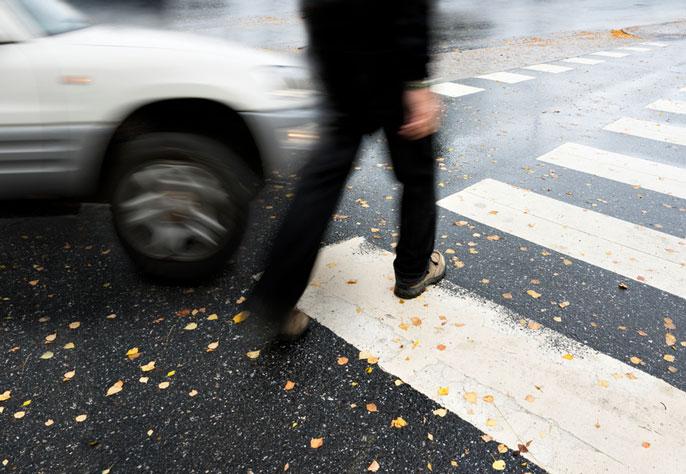 UC Santa Cruz pedestrian