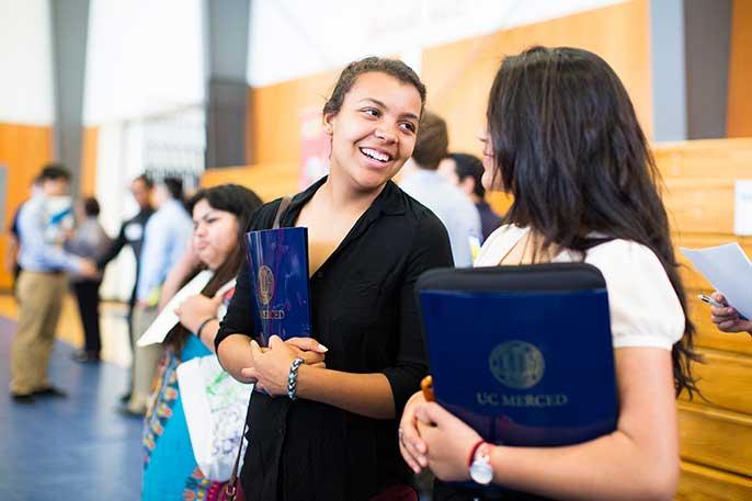 UC Merced students