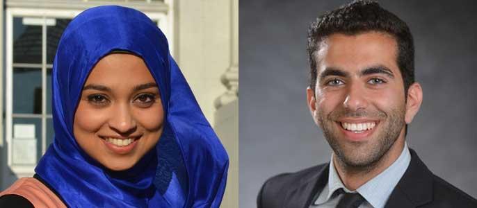 Sadia Saifuddin and Avi Oved