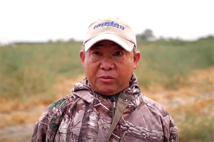 Chertai Xiong, a Hmong farmer in central California